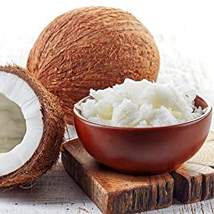 HSL Organic Extra Virgin Coconut Oil (Raw & Cold-Pressed) for Cooking, Baking, Skin moisturiser