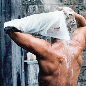half arm use in shower
