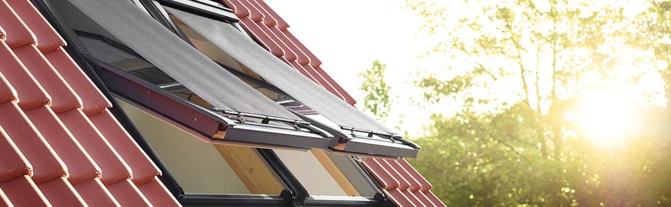 VELUX Original External Awning Blind Skylight Roof Window ...