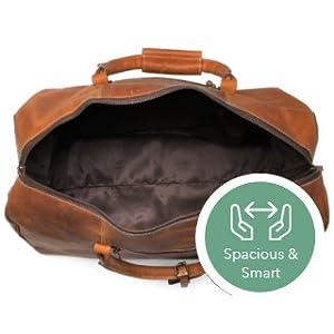 7eedae179ef7 bag leather women men duffel travel weekender sports luggage airplanes  carry-on gym heavy weekend