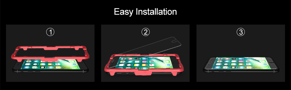 iPhone 8 Screen Protector,Compatible with iPhone 7 Screen Protector-1