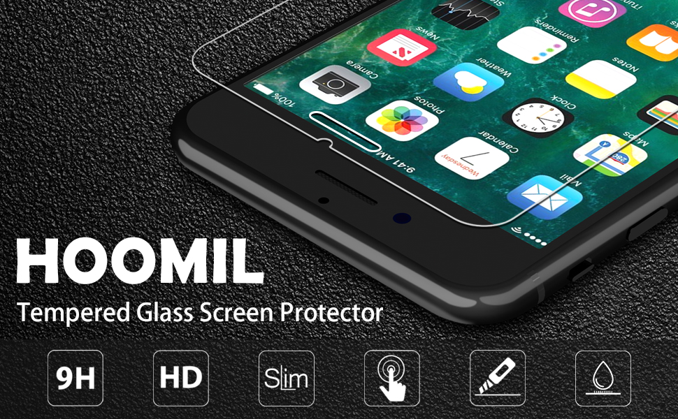 iPhone 8 Screen Protector,Compatible with iPhone 7 Screen Protector