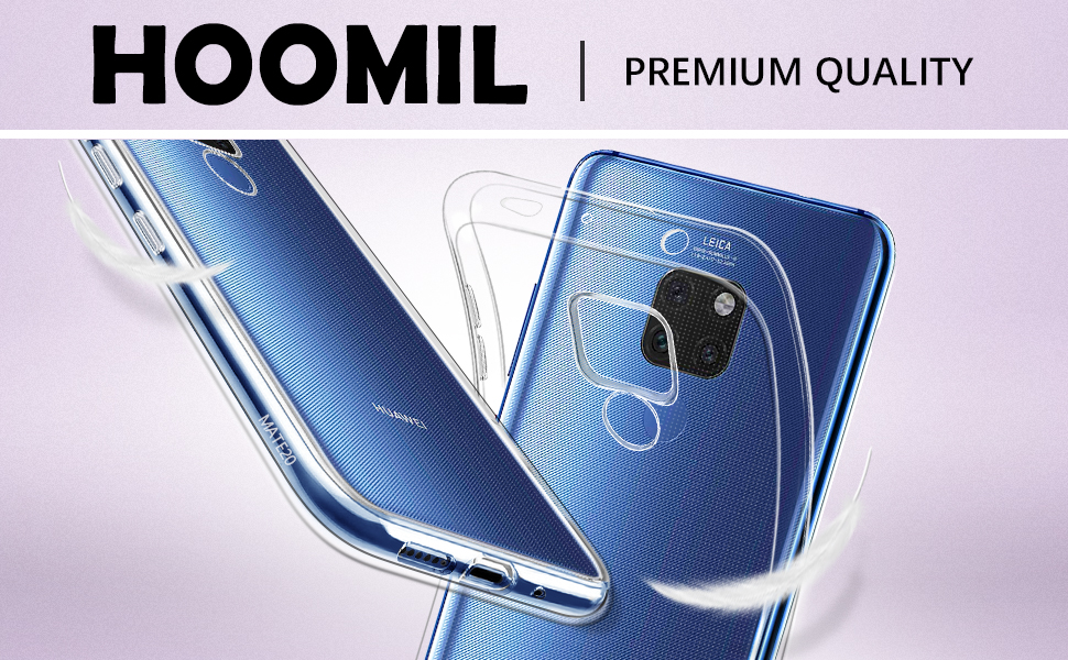 Huawei Mate 20 Case Soft TPU Crystal Slim Protective Clear Case
