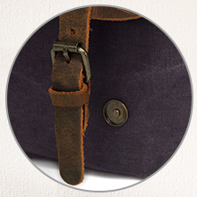 Premium quality leather buttons