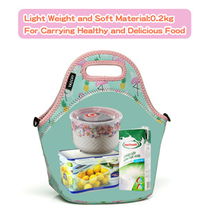 Light weight and soft material:0.2 kg  for carrying healthy and delicious food