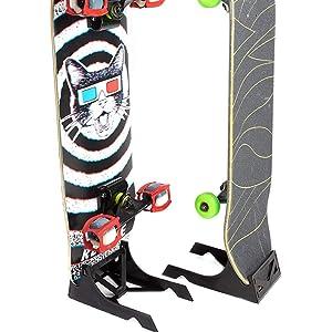 Minimalist Engineered Design   Made In USA. Skateboard Display