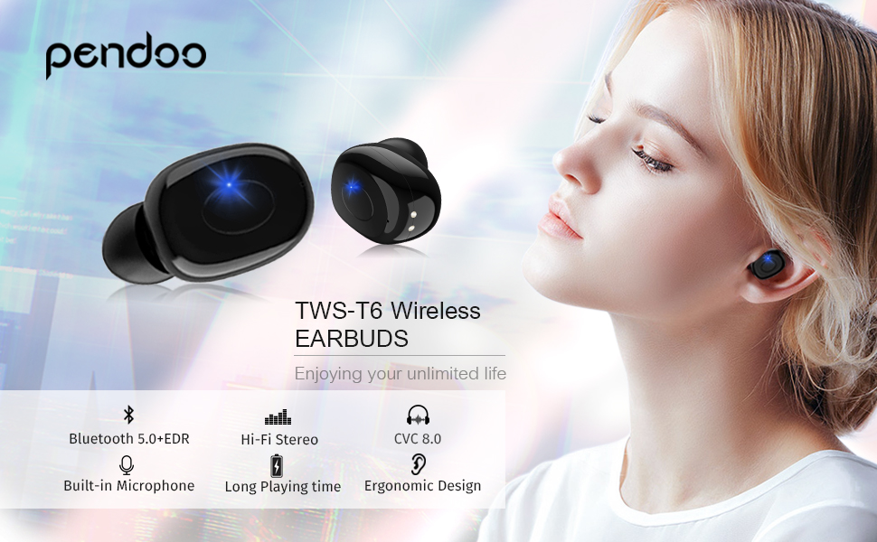 wireless earphones bluetooth earphones wireless earbuds