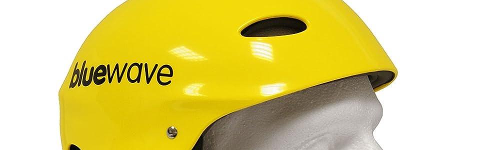 Typhoon Watersports Canoe Kayak Wakeboarding Helmet Yellow