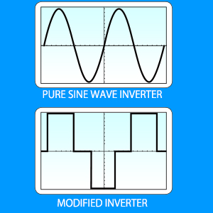 pure sine wave and modified