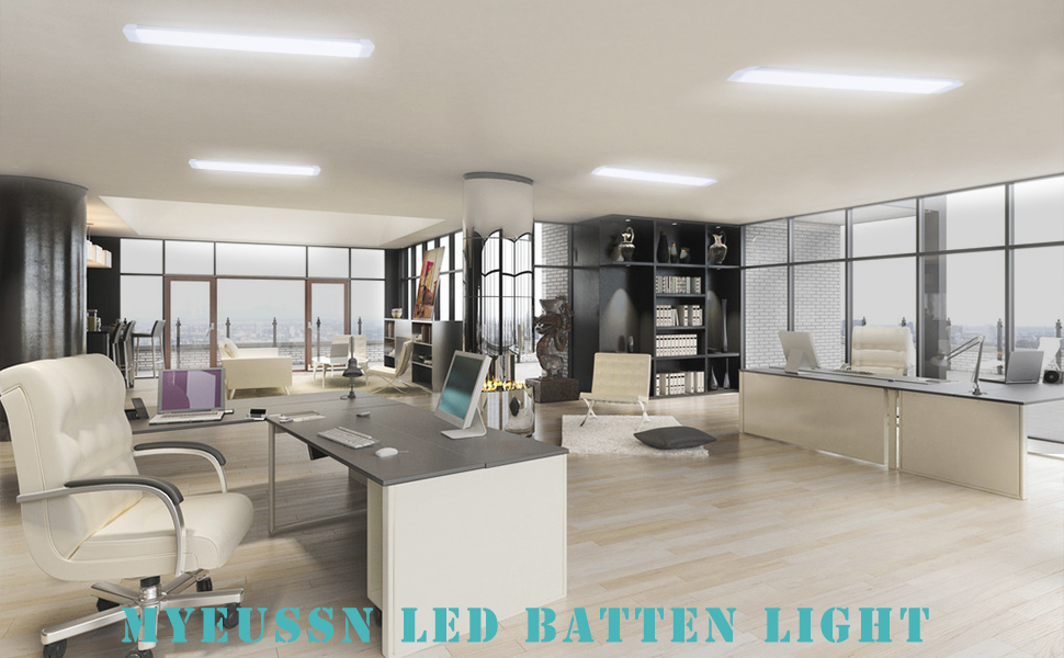 Energy Class A+ MYEUSSN Led Batten Light Brilliant Cool