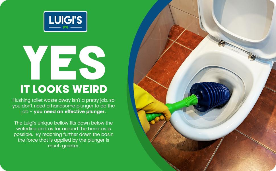 Luigi S The World S Best Toilet Plunger Big Bad