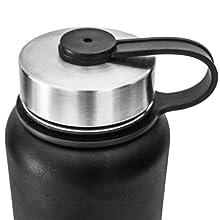 lid, bottle, steel