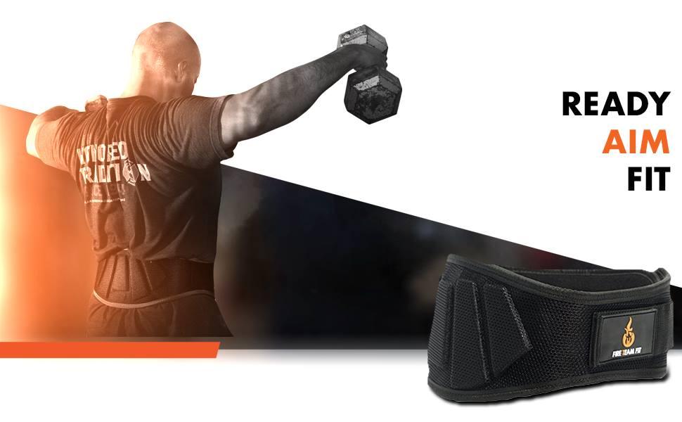 Elite Edition Premium Double Pong Gewichtheberg/ürtel BEAR GRIP Power Belt