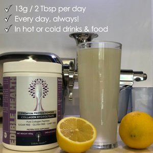 Collagen and Lemon Drink