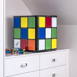 Rubiks Cube in Bedroom