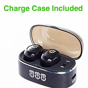 Charge case wise primate Blu blue base bass buds lite light