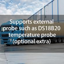 externe temperatuursonde DS18B20