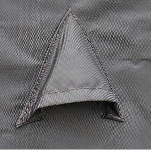 Housse de Protection 112x112cm Gris fonc/é B/âche carr/ée en Polyester Enduit PA pour Tables de Jardin Vasto 8 et Cubo 8