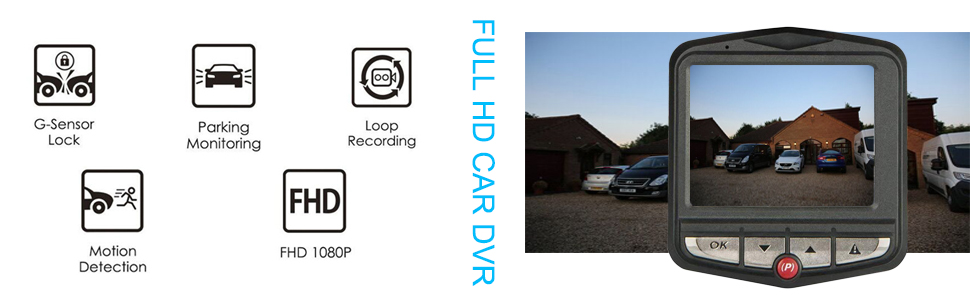 dash cam with sd card included