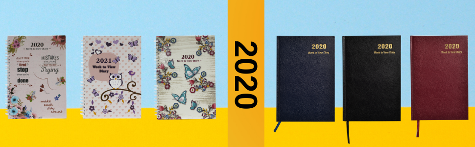 2020 and 2021 diary