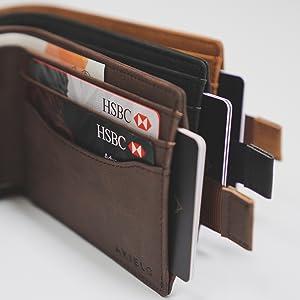 mens smart wallet anti theft wallet billfold bifold bilfold