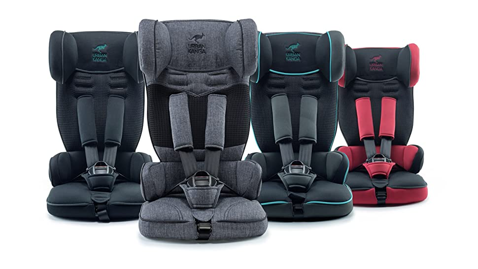 urban kanga uptown portable and foldable travel car seat group 1 9 18 kg black. Black Bedroom Furniture Sets. Home Design Ideas