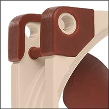 Integrerade anti-vibrationskuddar