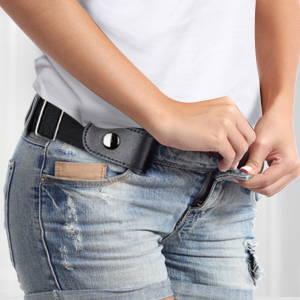 It shows the convenience of the belt.