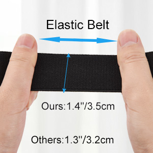It shows the size of the belt.