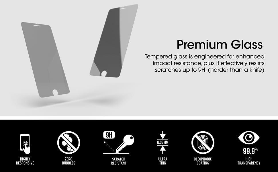 iPhone 8 Plus Premium Glass