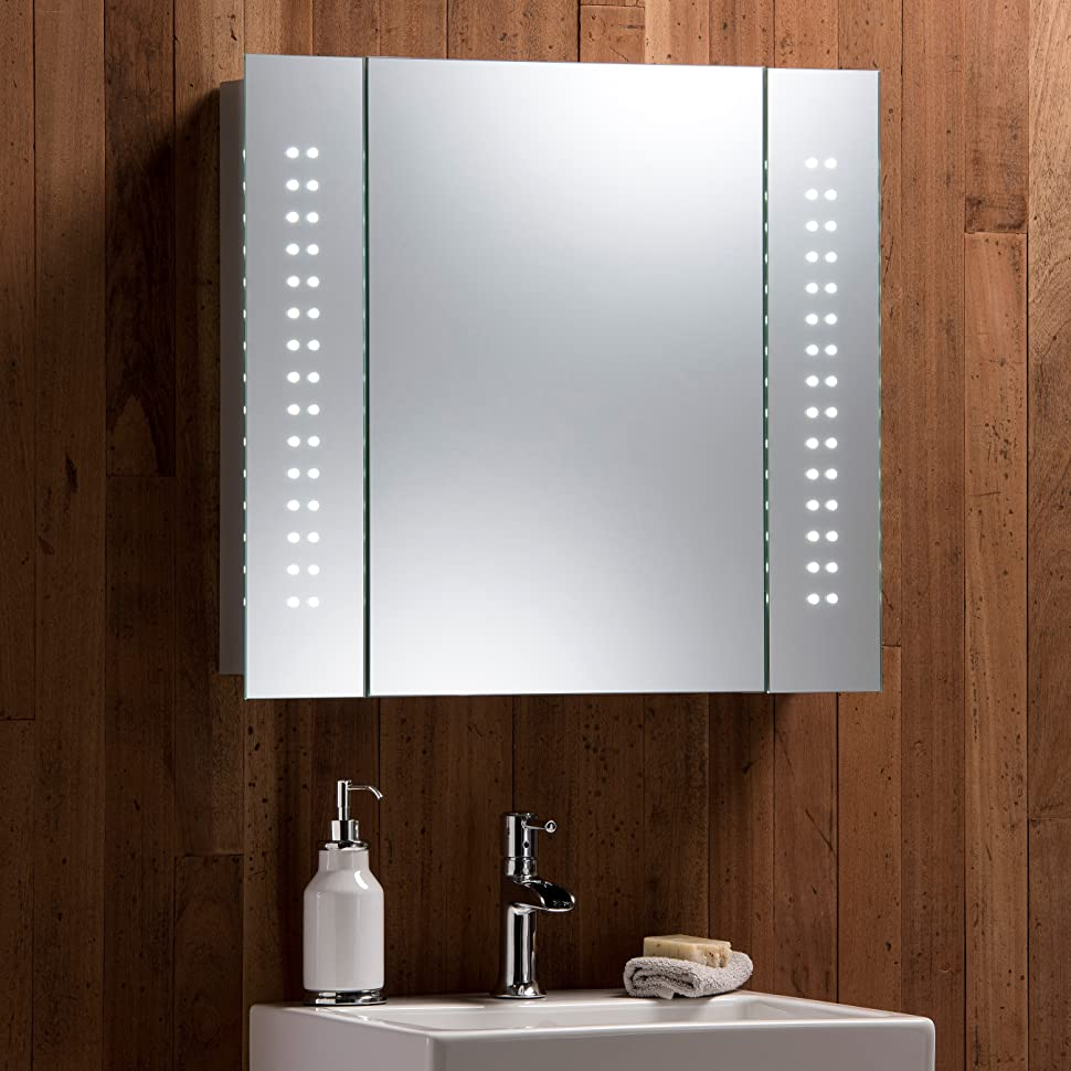 Marvelous Finish Your Bathroom In Style With This Stunning LED Mirror Cabinet