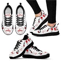 Sneakers con suola nera-1