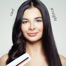 For curly and straight hair
