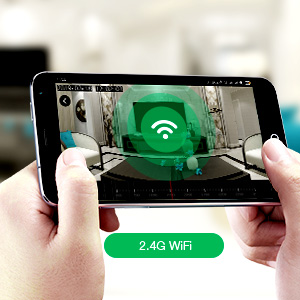 ip camera with 2.4G wifi connection