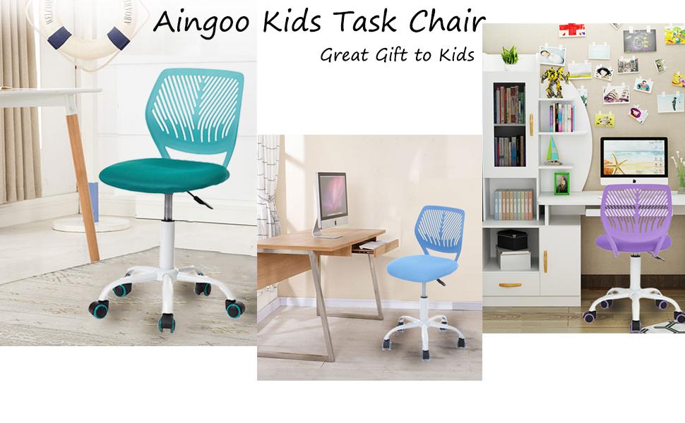 Aingoo Home Office Task Computer Chairs Mid Back Swivel ...