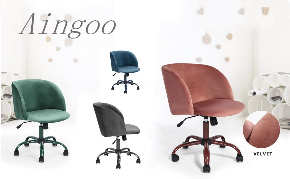 Aingoo Velvet Desk Chair