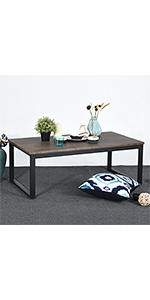 Industrial Style Coffee Cocktail Table