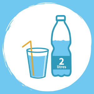 drink at least 2 litres a day