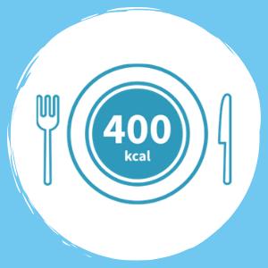 400 calories milkshakes