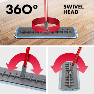 Silicone Floor Mop Grey