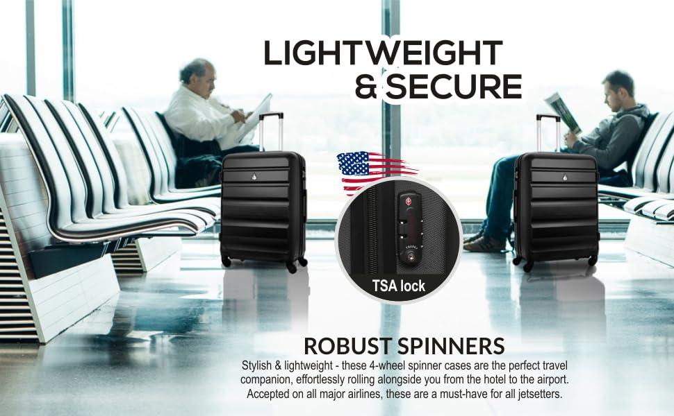 ABS325-BLACK-TSA-3PCS