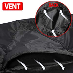 Buckles Waterproof Black 2-3 Passenger Elastic Hem NOVSIGHT UTV ATV Quad Cover Utility Vehicle Storage Cover 300D Oxford Cloth with Vents