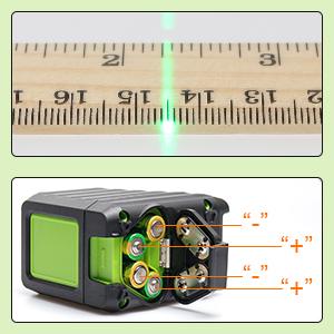 Huepar Self Leveling Green Laser Level Box 1g 150ft 45m