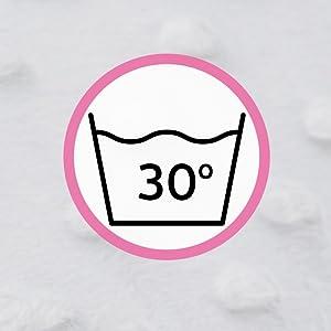 WASH AT 30 DEGREES