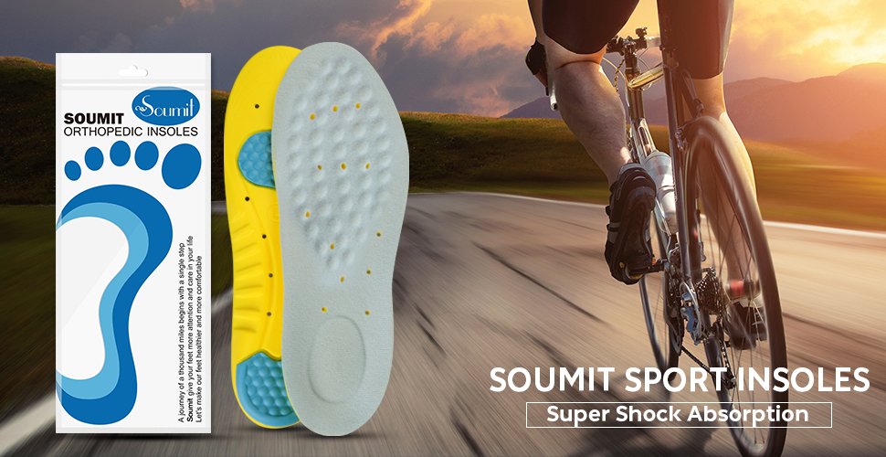 Ventilating Insoles For Running Shoes
