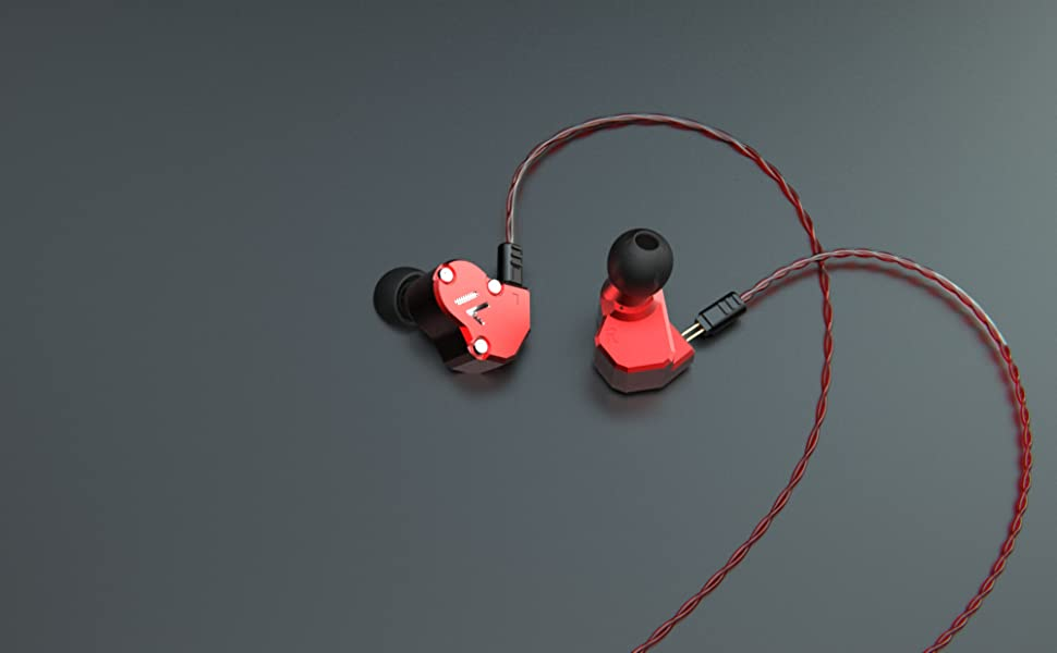 Revonext Qt2s In Ear Kopfhörer Dreifacher Treiber Elektronik