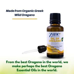Pure essential oil of oregano