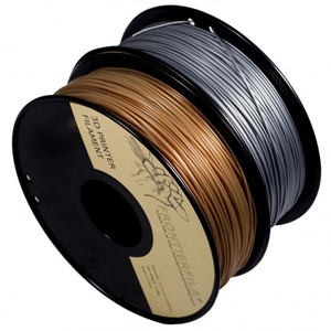 Gold and silver color filament