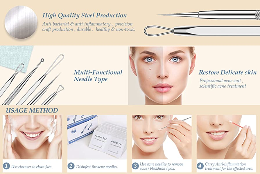 Health & Beauty Well-Educated Facial White/black Head Remover Professional Quality At Any Cost Hair Care & Styling