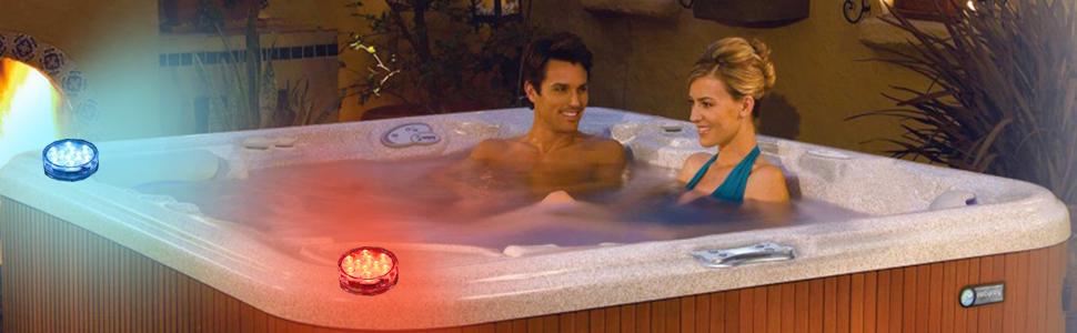 Hot tub lights